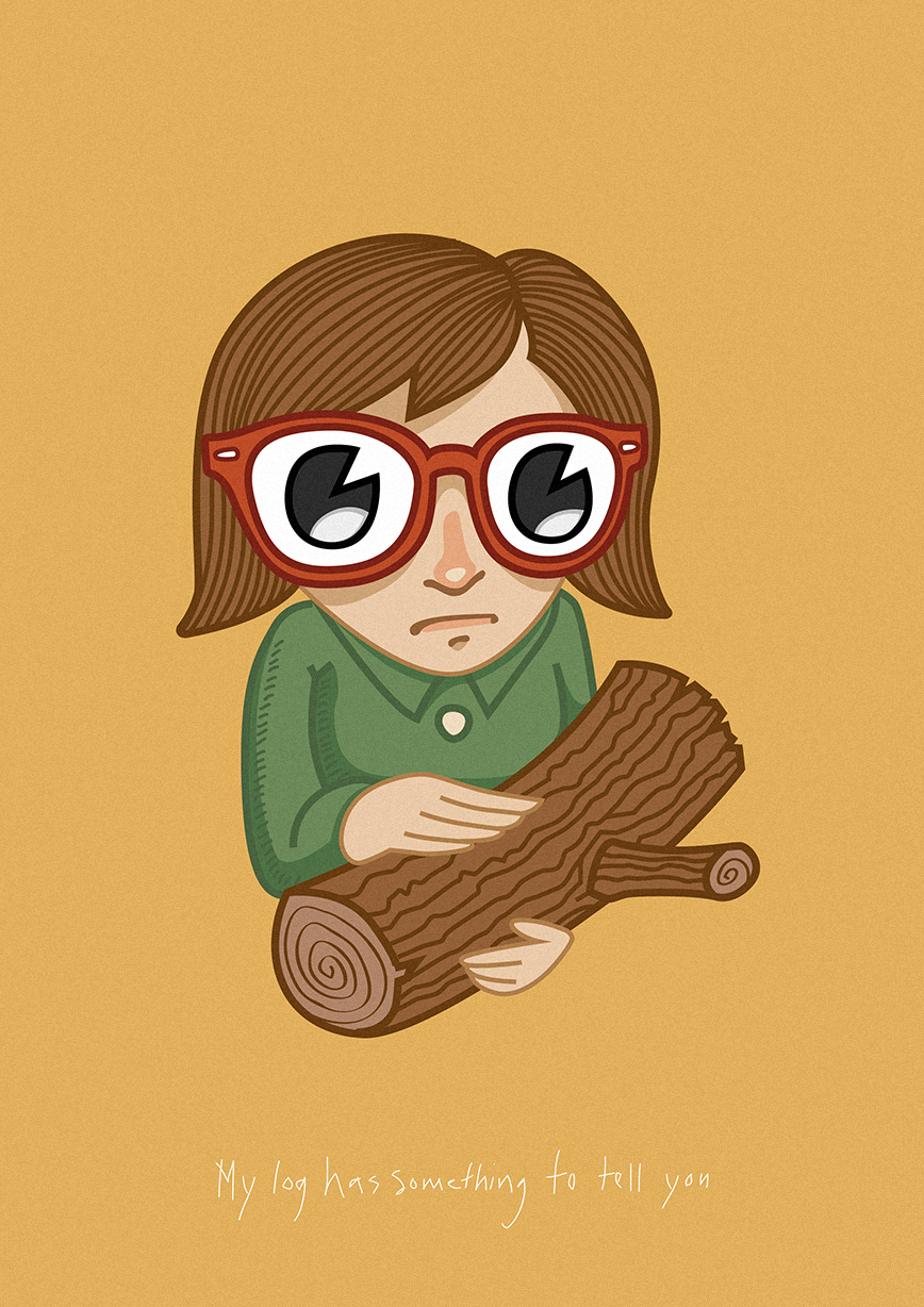 My own take on the iconic Log Lady.