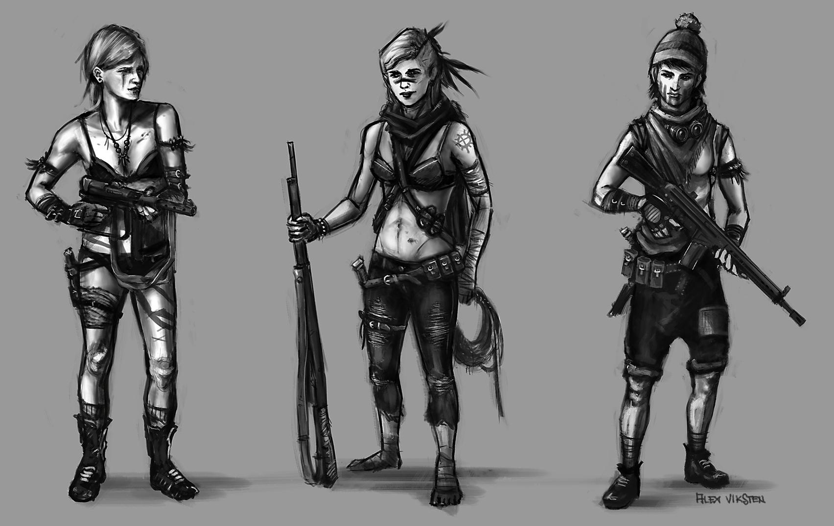 Concept art – Gunners